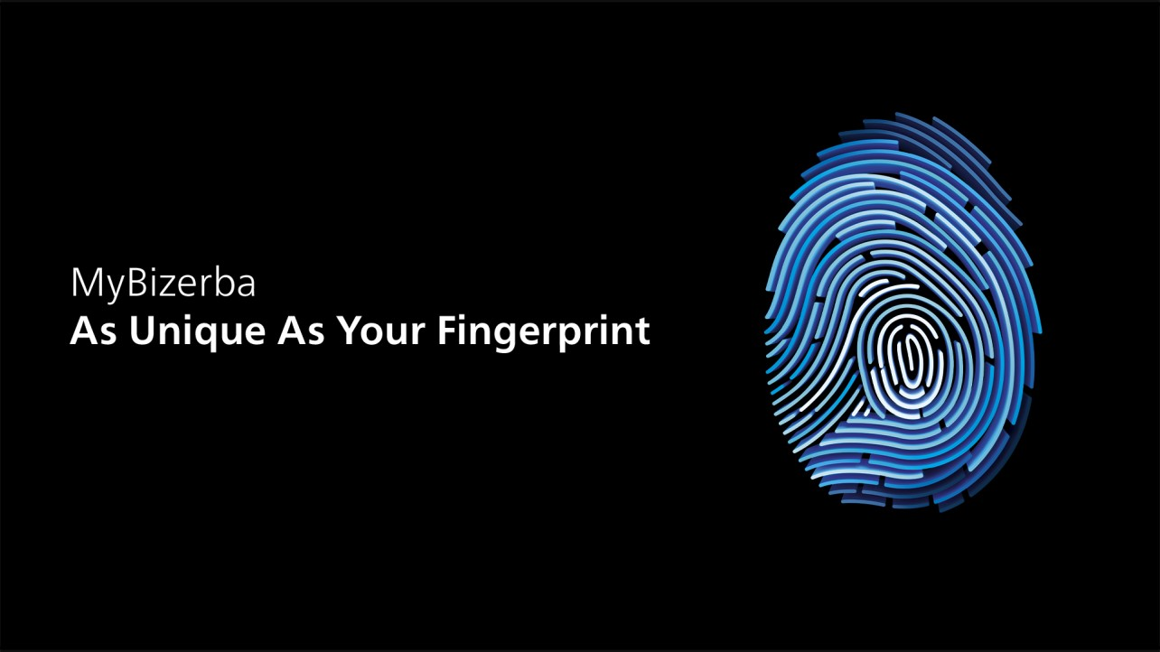 MyBizerba – As Unique As Your Fingerprint