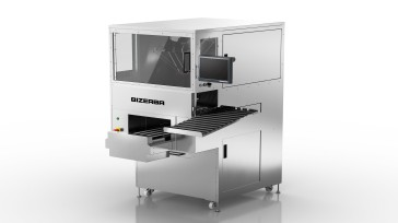 Weighing, packaging, labeling in one device, the new Bizerba B3 Wrapper