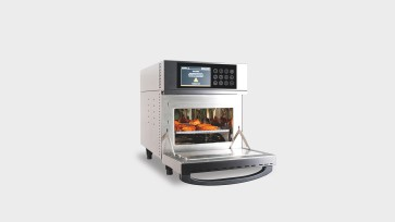 Bizerba's Dragon series VRC ovens can be programmed with up to 240 recipes
