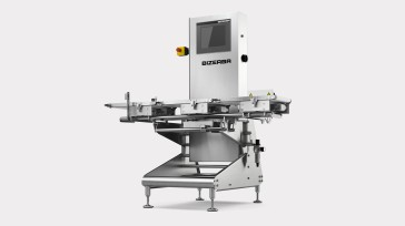 The CWFmaxx dynamic checkweigher optimizes the quality assurance of packed goods.