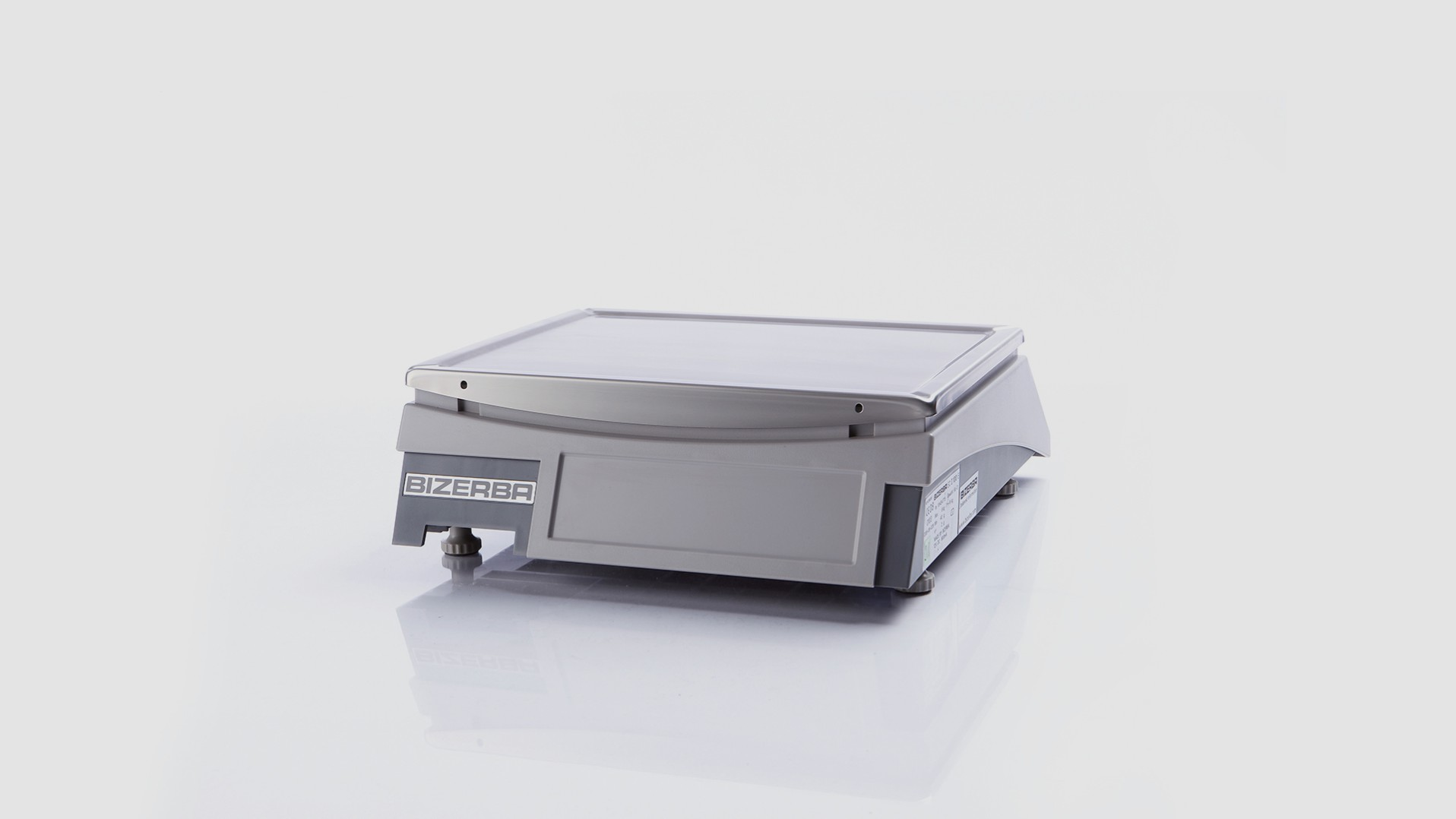 Counter top scale EC II 100 E rear view