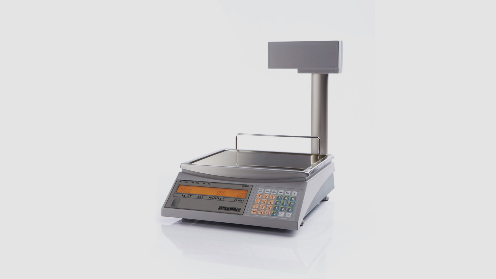 Counter top scale EC II front view