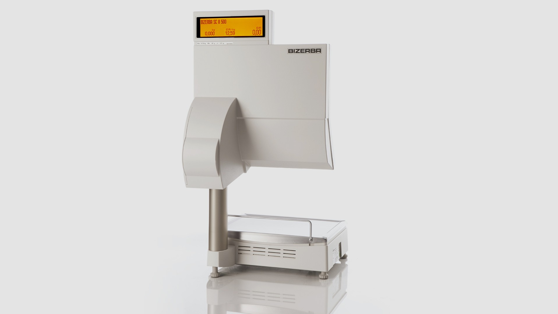 Self-service scale SC II 500 rear view