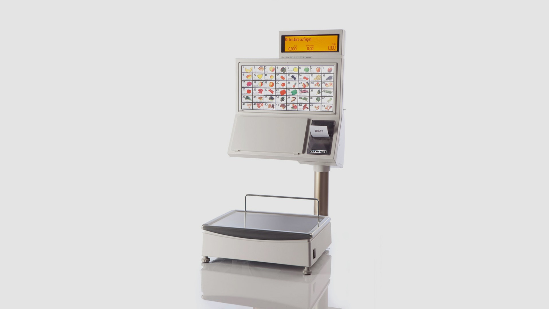 Self-service scale SC II 500 front view