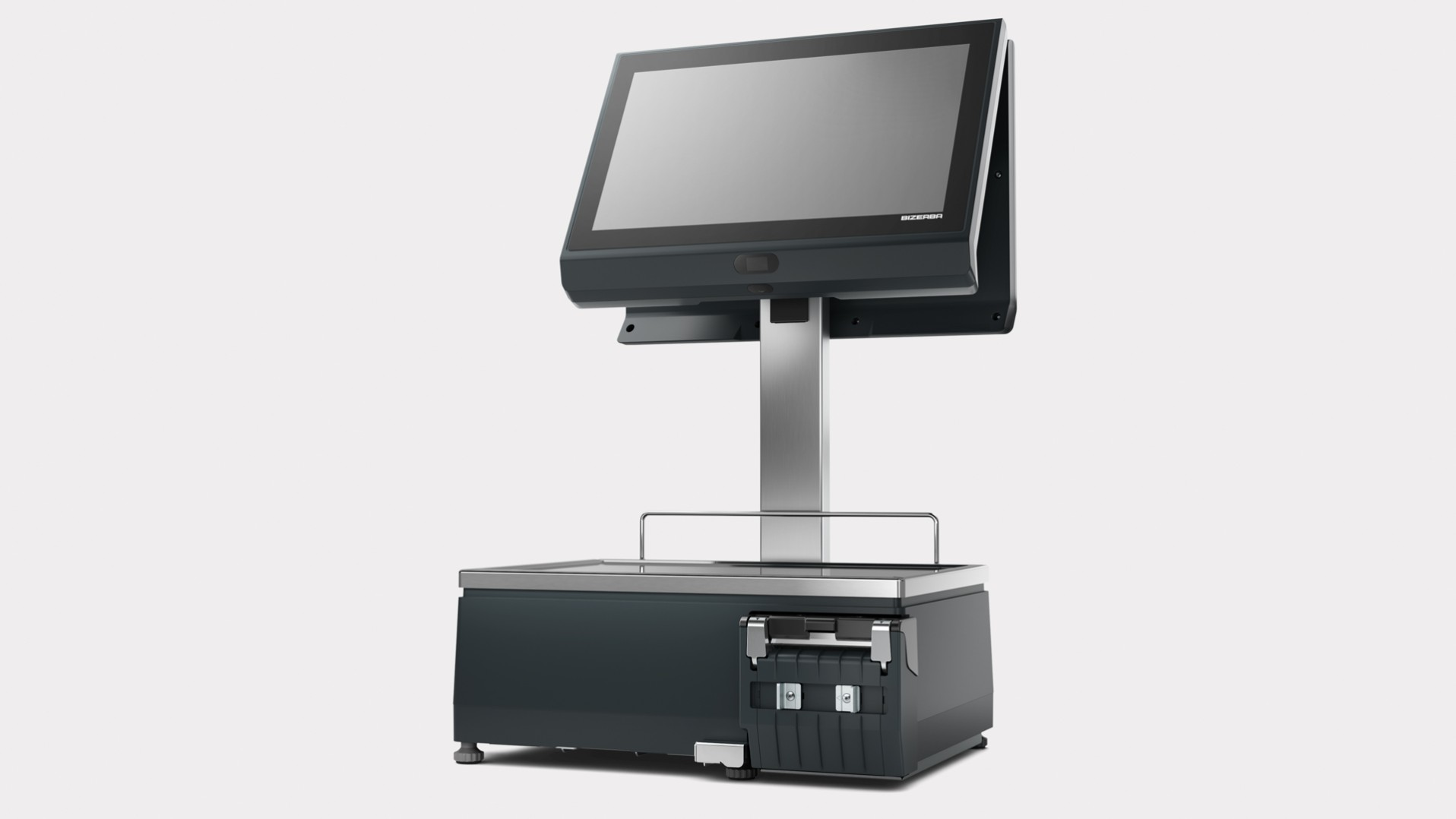 "XC II 800 Pro 15"" operator display and 15.6"" customer display"