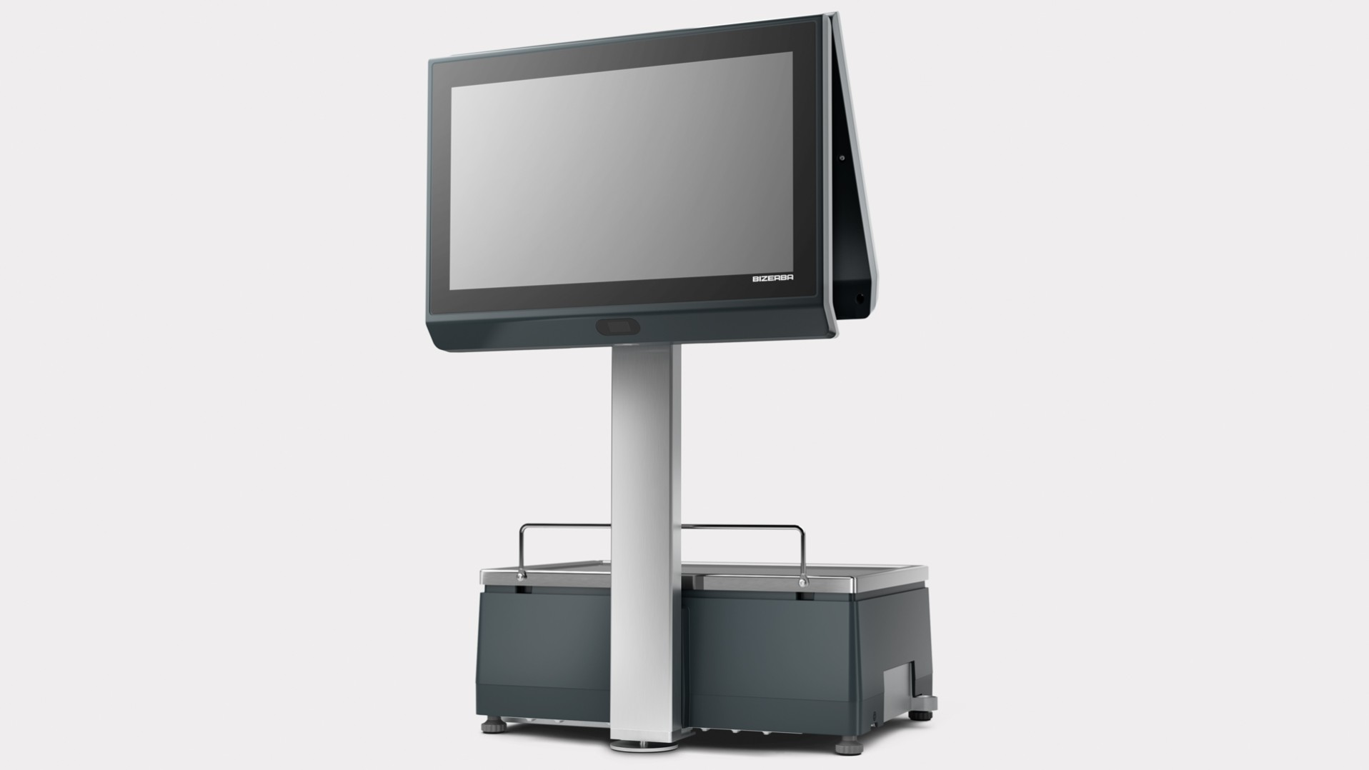 "XC II 800 Pro 15.6"" operator display and 15.6"" customer display"