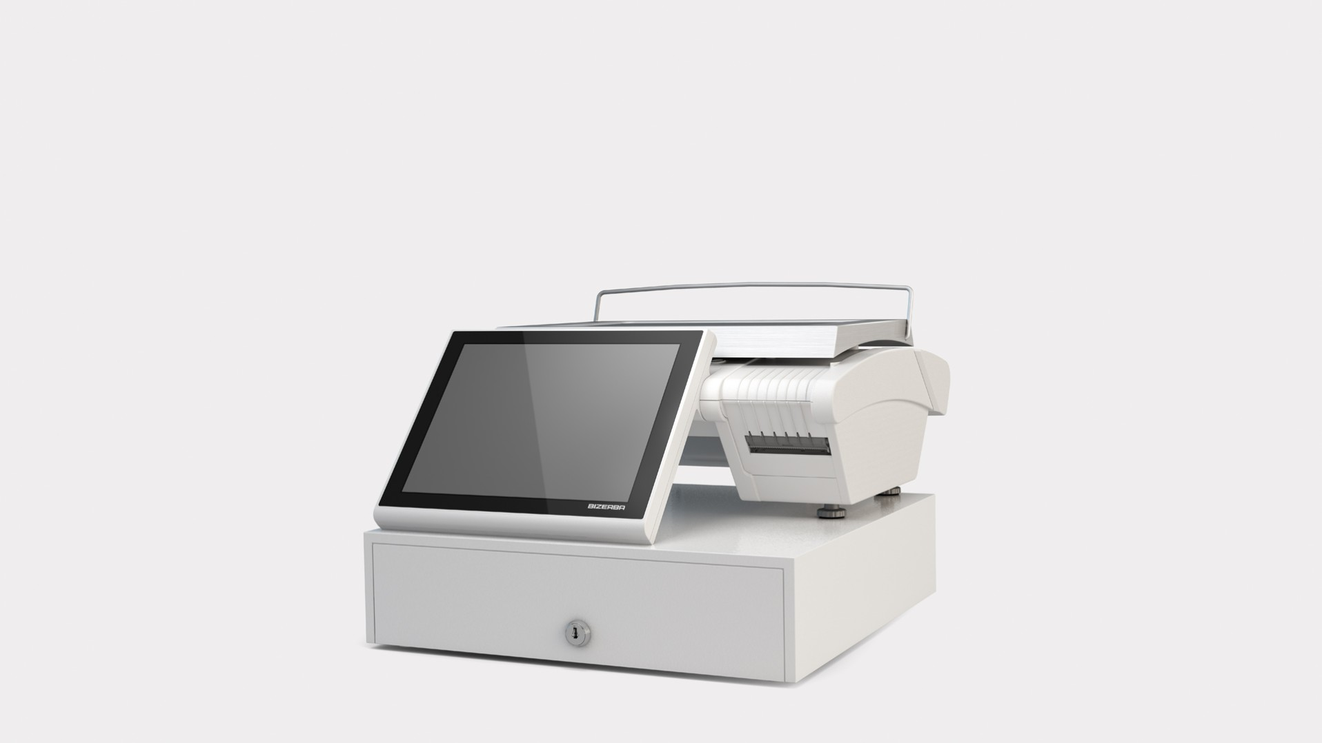 KH II 100 Pro with cash drawer