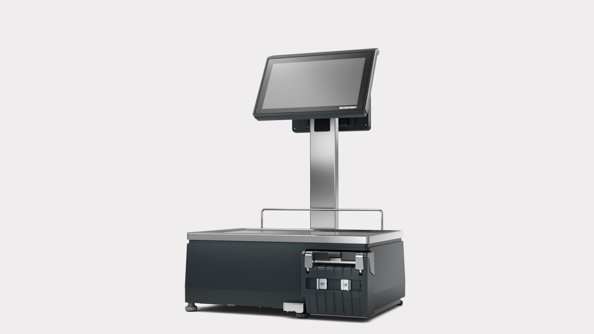 Counter top self service scale X-Class 800 front view