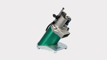 Brunner-Anliker's GSM 5 vegetable slicer is ideally suited for small-scale gastronomy operations.