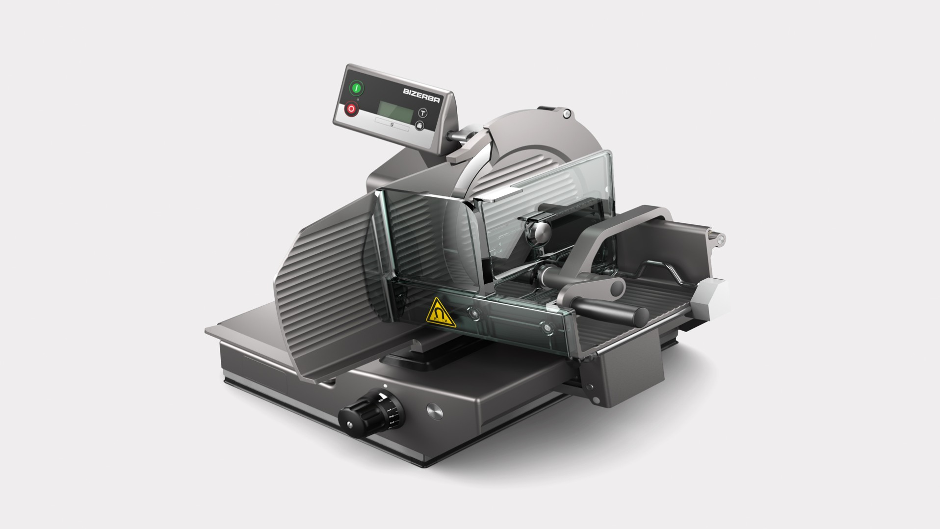 Manual vertical slicer VSC280 W