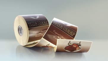 Original Bizerba labels